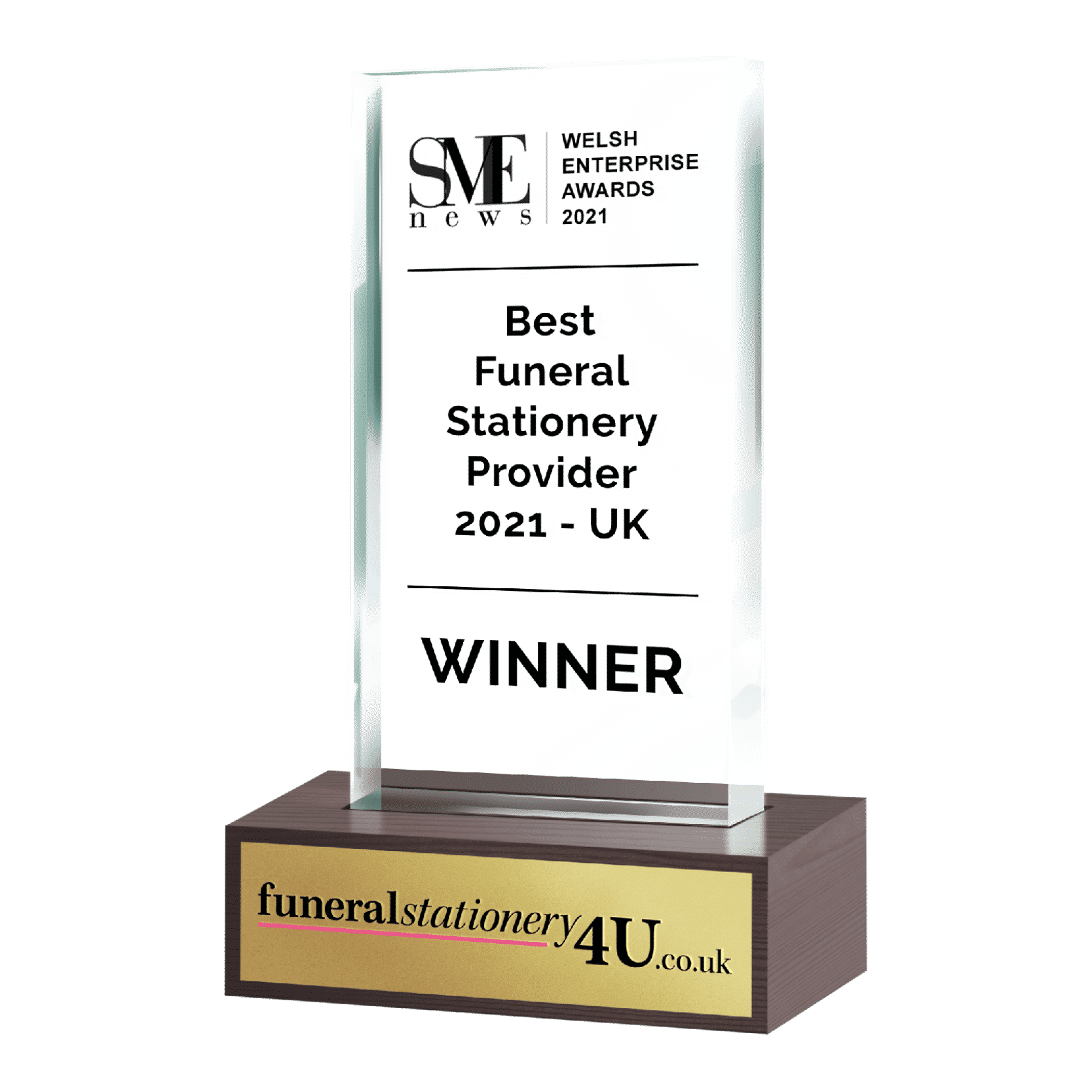 Best funeral stationery provider award 2021